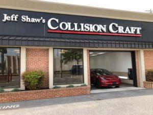 Collision Craft Tesla Body Shop